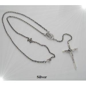ロザリオネックレス(3)50cm/十字架(メイン)|0001pppcom