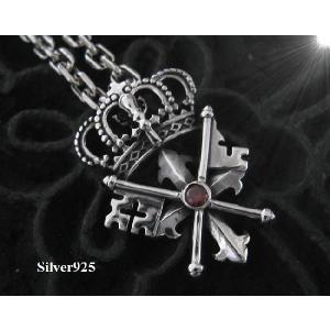 王冠 クラウンペンダント(1)RCZ  (メイン) 王冠ペンダントシルバー925|0001pppcom