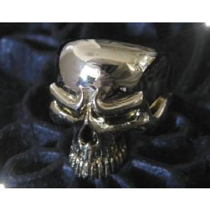 ブラススカルリング(1)11号・13号・15号・16号・17号・18号・19号・20号・21号・22号・23号・24号・25号 /ドクロ指輪真鍮製(メイン)|0001pppcom