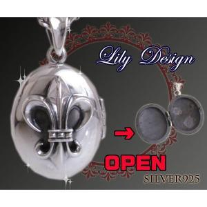 LILYケース(1) ユリ(メイン)ペンダント|0001pppcom