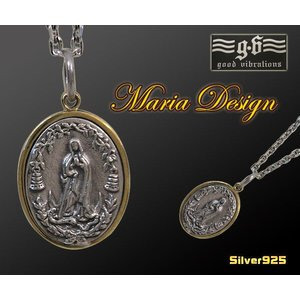 【GV】マリアとロレーヌ十字架のペンダントSV+B/十字架(メイン)|0001pppcom