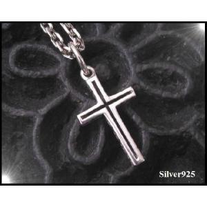 デザインクロス(4)/王冠・十字架 シルバー925(メイン)ペンダント 0001pppcom