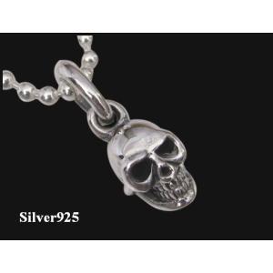 スカルトップ(2) ドクロ 髑髏 骸骨 シルバー925(メイン)|0001pppcom