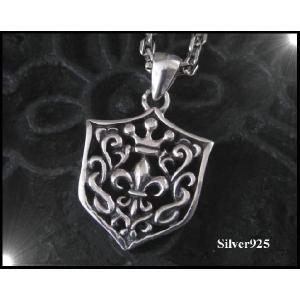 LILYクラウントップ(大) 王冠 十字架 シルバー925(メイン) 0001pppcom