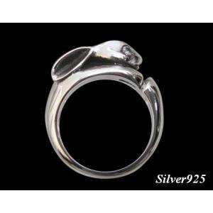 うさぎの指輪 シルバー925(メイン)|0001pppcom