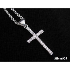 シャイニークロス(3)CZ 十字架 シルバー925(メイン)(補充11月)|0001pppcom