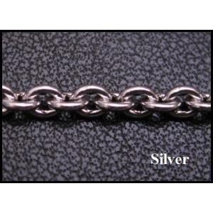 ネックレス (オキシ)あずきチェーン(L)45cm太さ3,5mm シルバー925(メイン)ネックレス|0001pppcom