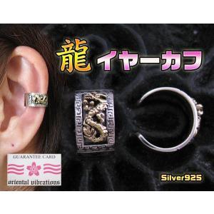 【OV】龍のイヤーカフSV+B/ドラゴン・和風(メイン)|0001pppcom