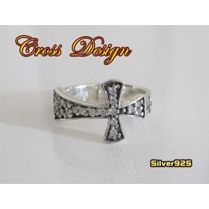 クロスリング(1)CZ/十字架指輪(メイン)|0001pppcom