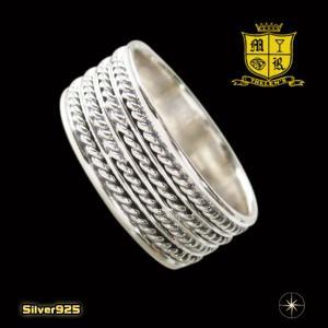 デザインリング(22)13号・16号・18号・20号/【メイン】シルバー925銀指輪・シンプル|0001pppcom