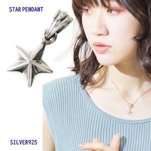 スモールスター(2) メイン スター 星 星 ペンダント ネックレス|0001pppcom