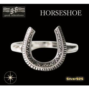 (GV)スモールホースシューリング(1) メイン ネイティブ 馬蹄 蹄鉄指輪|0001pppcom