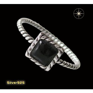 デザインリング(40)オニキス07号・09号・11号・13号・15号・17号/(メイン)天然石・シンプルな指輪・シルバー925銀|0001pppcom