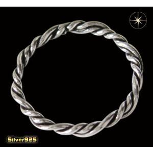 デザインリング(47)11号・13号・15号・17号・19号・21号・23号・25号/(メイン)編み込み・シンプルな指輪・シルバー925銀|0001pppcom
