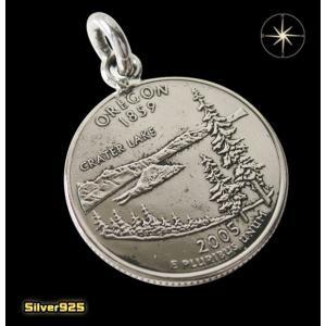 本物のアメリカのコインペンダント(4)オレゴン州 メイン コイン 硬貨 ペンダント ネックレス|0001pppcom
