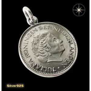 本物のオランダのコインペンダント(1)/(メイン)ヨーロッパ・コイン・硬貨・ペンダント・ネックレス|0001pppcom