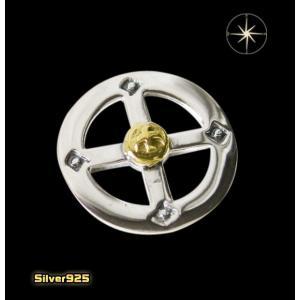 【パーツ】メディスンホイール(6)SV+B/(メイン)・ネイティブ・パーツ・シルバー925製・銀|0001pppcom