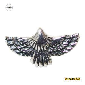 ネイティブイーグルのピアス(2)片耳売り/【メイン】 ゴールドイーグル・ネイティブジュエリー・動物・鳥・シルバー925製銀|0001pppcom