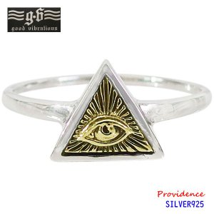 good vibrations【GV】プロビデンスの目の指輪(5)SV+B10号11号12号13号14号15号16号17号18号19号20号21号22号23号/【メイン】  メンズ   指輪 シルバー925銀|0001pppcom