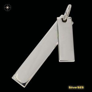 プレートペンダント(5)(メイン)シルバー925製/銀/メンズ・レディース|0001pppcom