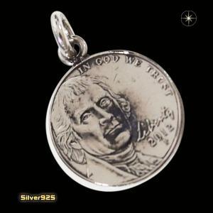 本物のアメリカのコインペンダント(6)(メイン)シルバー925製/銀/硬貨メンズ・レディース|0001pppcom