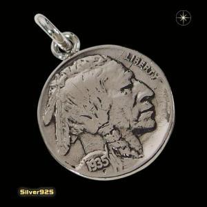 本物のアメリカのコインペンダント(8)(メイン)シルバー925製/銀/硬貨メンズ・レディース|0001pppcom