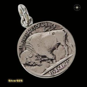 本物のアメリカのコインペンダント(9)(メイン)シルバー925製/銀/硬貨メンズ・レディース|0001pppcom