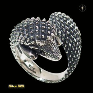ハリネズミの指輪(1)BCZ・09号フリーサイズ(メイン)シルバー925製/銀/動物はりねずみメンズ・レディース 0001pppcom