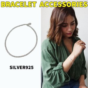 シルバーチェーンブレスレット(1)(メイン)シルバー925製 銀 メンズ レディース|0001pppcom