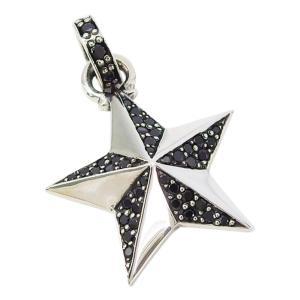 シャイニースター(6)BCZシルバー925 銀 ペンダント ネックレス メンズ レディース  スター 星|0001pppcom