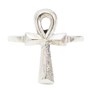 (GV)エジプトクロスの指輪(1)07号から23号 シルバー925 銀 メンズ レディース 送料無料 アクセサリー アンククロス 十字架   指輪 リング 0001pppcom