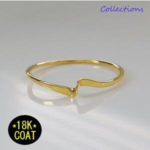 18Kゴールドコーティング シンプルリング(2) ブラス製 メイン 07号 08号 09号 10号 11号 12号 13号 14号 15号 16号 17号 18号 19号 20号 21号|0001pppcom