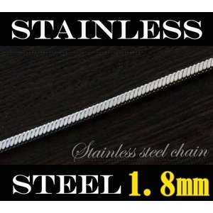 (ステンレス)デザインチェーン(1)選択可50cm 60cm 金属アレルギー対応ネックレス(メイン)|0001pppcom