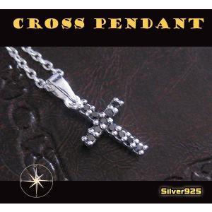 シャイニークロス(14)BCZ/(メイン)シルバー925銀ネックレスクロス|0001pppcom