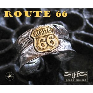【GV】ルート66フェザーリング(1)SV+B17号フリーサイズ/(メイン)羽根指輪|0001pppcom