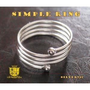 シンプルリング(8)フリーサイズ08号・11号/(メイン)シルバー925銀指輪ピンキーリングレディース女性|0001pppcom