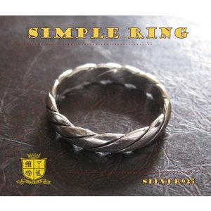シンプルリング(5)06号・07号・08号/(メイン)シルバー925銀指輪ピンキーリングレディース女性|0001pppcom