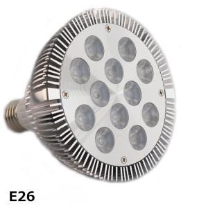 24w 白/赤 観賞用植物育成LED スポットライト 植物育成用660nmLED使用 水耕栽培 室内栽培 白/赤 観賞用