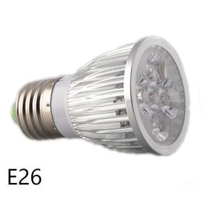5w 白/赤 観賞用植物育成LEDライト E26 小型スポットライト 水耕栽培 室内栽培 一般照明 植物育成用660nmLED使用 白/赤LED E26口金