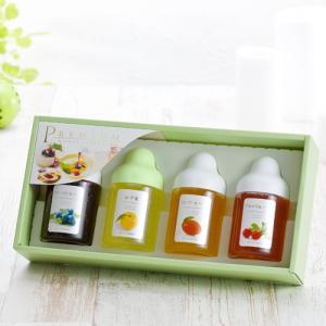 MA4P 果汁蜜 300g×4本セット(ゆず蜜、ブルーベリー、マンゴー、アセロラ)