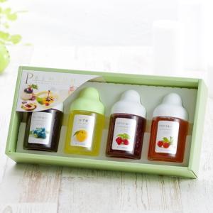 AR4P 【果汁蜜】300g×4本セット(ブルーベリー、ゆず蜜、アセロラ、ラズベリー)