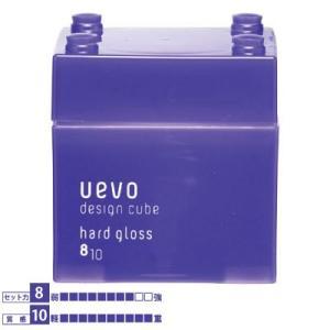 UEVO Design Cube ウェーボ デザインキューブ ハードグロス 80g|0109