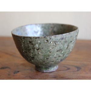 信楽焼 碧(みどり)茶碗|010gama