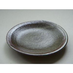 信楽焼 豆皿 灰釉|010gama