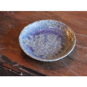 信楽焼 藍(あい)小皿|010gama
