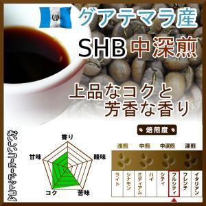 コーヒー豆 グアテマラ コーヒー SHB 中深煎 最高級グレード 500g グァテマラ 珈琲 50杯...