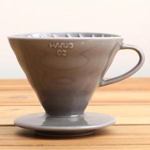 ILCANA イルカナ セラミックドリッパー 02 銀鼠/イルカナダークグレー|0141coffee
