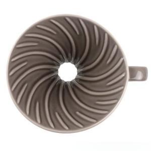 ILCANA イルカナ セラミックドリッパー 02 銀鼠/イルカナダークグレー|0141coffee|02