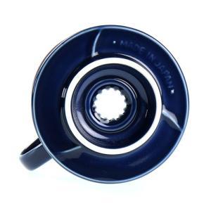ILCANA イルカナ セラミックドリッパー 02 紺青/イルカナネイビー|0141coffee|03