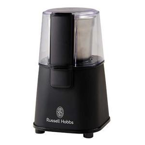 電動コーヒーミル Russell Hobbs ラッセルホブス コーヒーグラインダー マットブラック 7660JP-BK|0141coffee